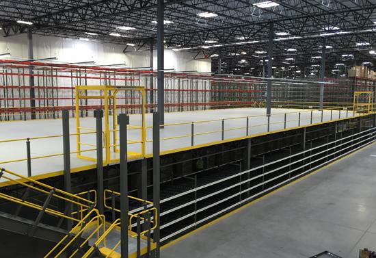 Apex Industrial Warehouse Mezzanine