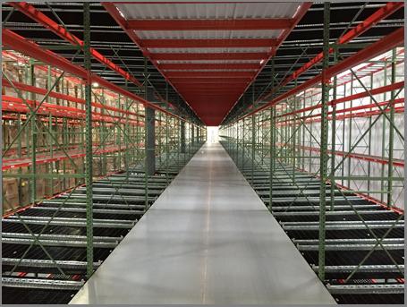 Warehouse Storage Pick Module