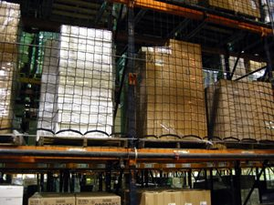 pallet rack safety accessories netting