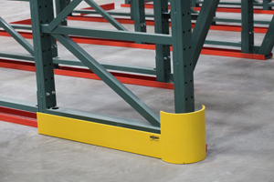 Pallet Rack Safety Accessories - Upright Row End Protector