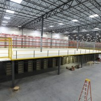Warehouse mezzanine design