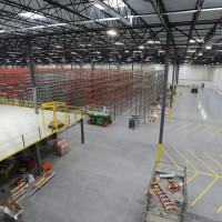 Storage design for warehouse floor