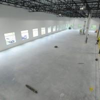 Warehouse floor design