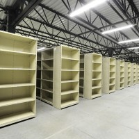 Shelving storage design for warehouse