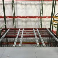 Material handling shelving system