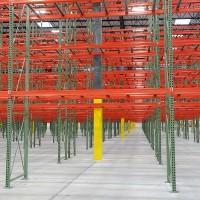 Warehouse selective pallet rack