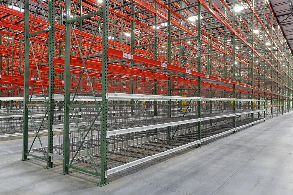 Wire Decking For Pallet Racks | Pallet Racking Chicago Warehouse Storage Il Apex Warehouse System