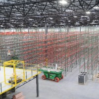 Warehouse racking shelving system installation
