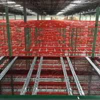 Pick module shelving system with selective reserve storage