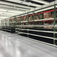 Warehouse shelving carton flow pick module