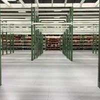 Warehouse mezzanine pick module