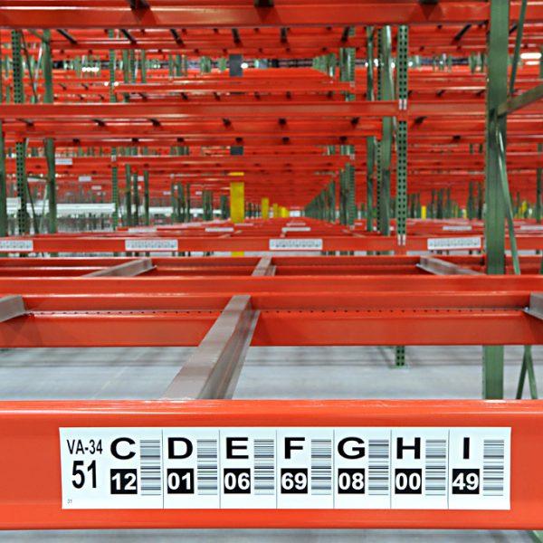 Warehouse racks for storage