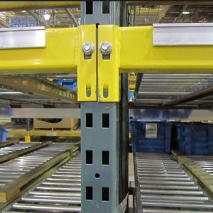 Warehouse bolted shelving