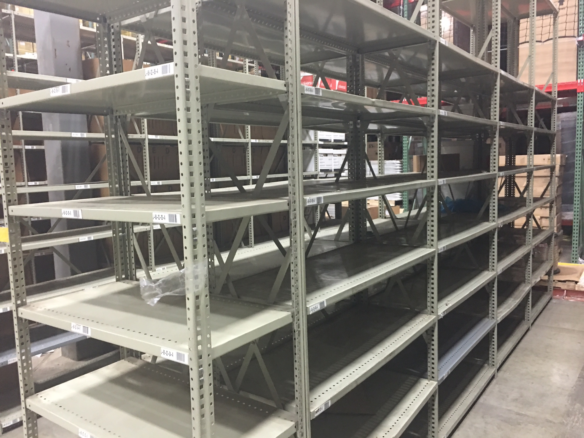 Storage shelving systems
