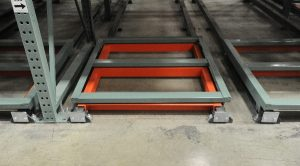 Push-Back Pallet Rack - Apex Warehouse Systems