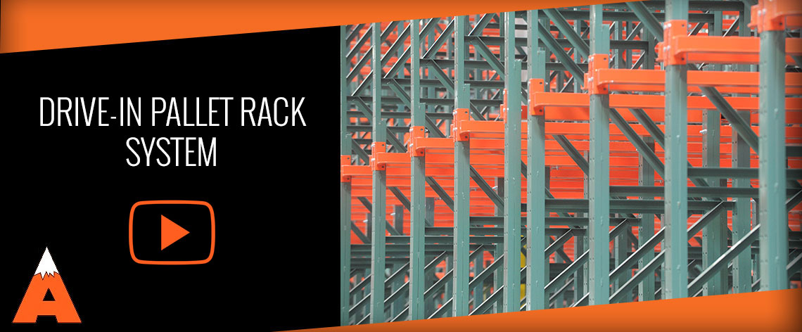 Drive-in pallet rack