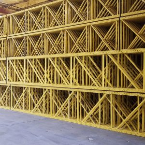 Apex Roll-Formed Pallet Rack Frames