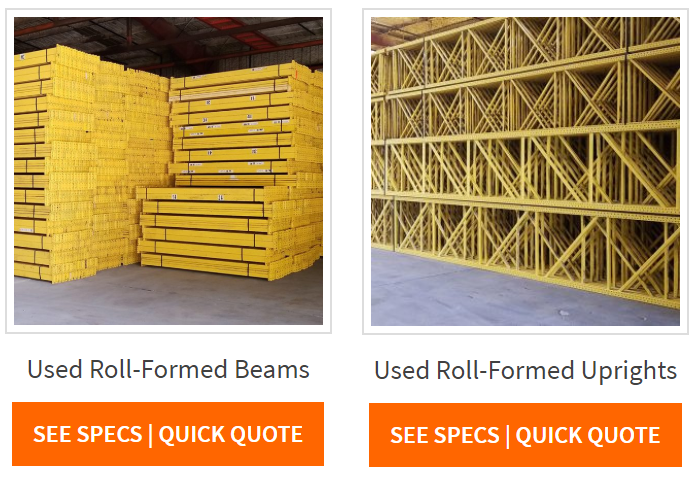 Used Pallet Rack - Apex Warehouse Systems